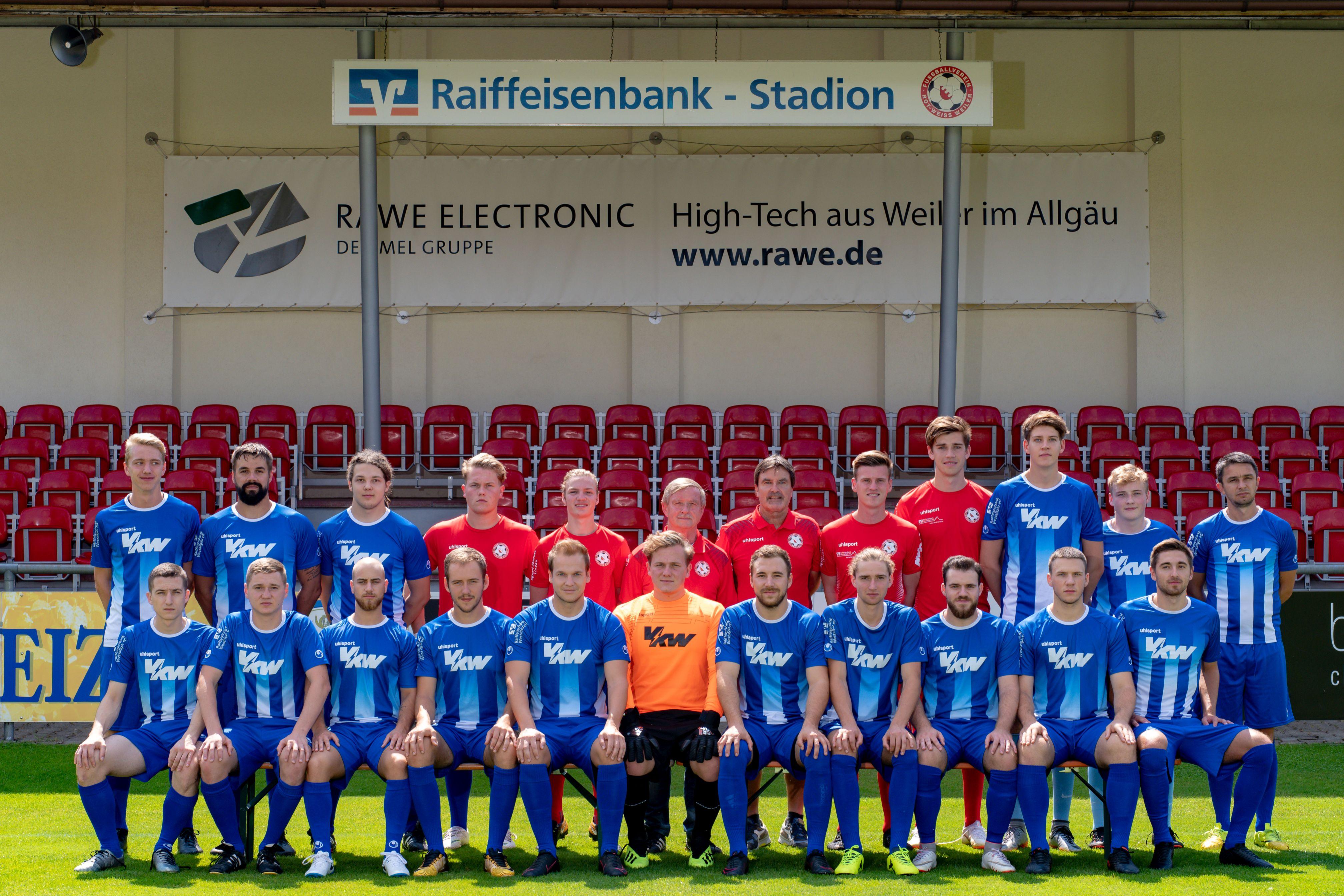 Mannschaftsfotos und Spieler-Portraits Saison 2018/19