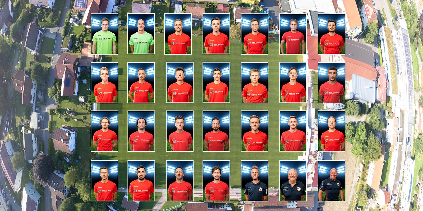 Mannschaftsfotos und Spieler-Portraits Saison 2020/21